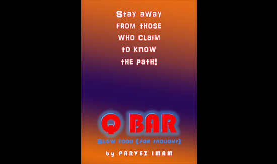 Q BAR Poster series. Digital Print on Paper. (29.7 x 42 cm). 2019